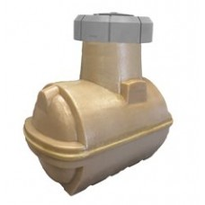 2500L Double Walled Plastic Underground Oil Tank