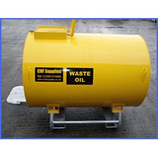 1400ltr Skid Mounted Waste Oil Tank