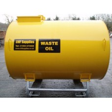 2500ltr Skid Mounted Waste Oil Tank